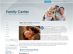 family-center-wordpress-theme