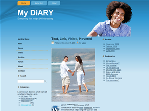 my-diary-wordpress-theme